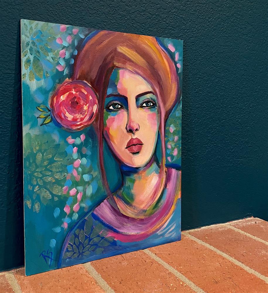 """All My Life"" original fine art by Artcylucy Art by Roberta Schmidt"