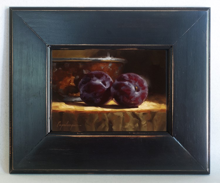 """Plums And Copper"" original fine art by David Capalungan"