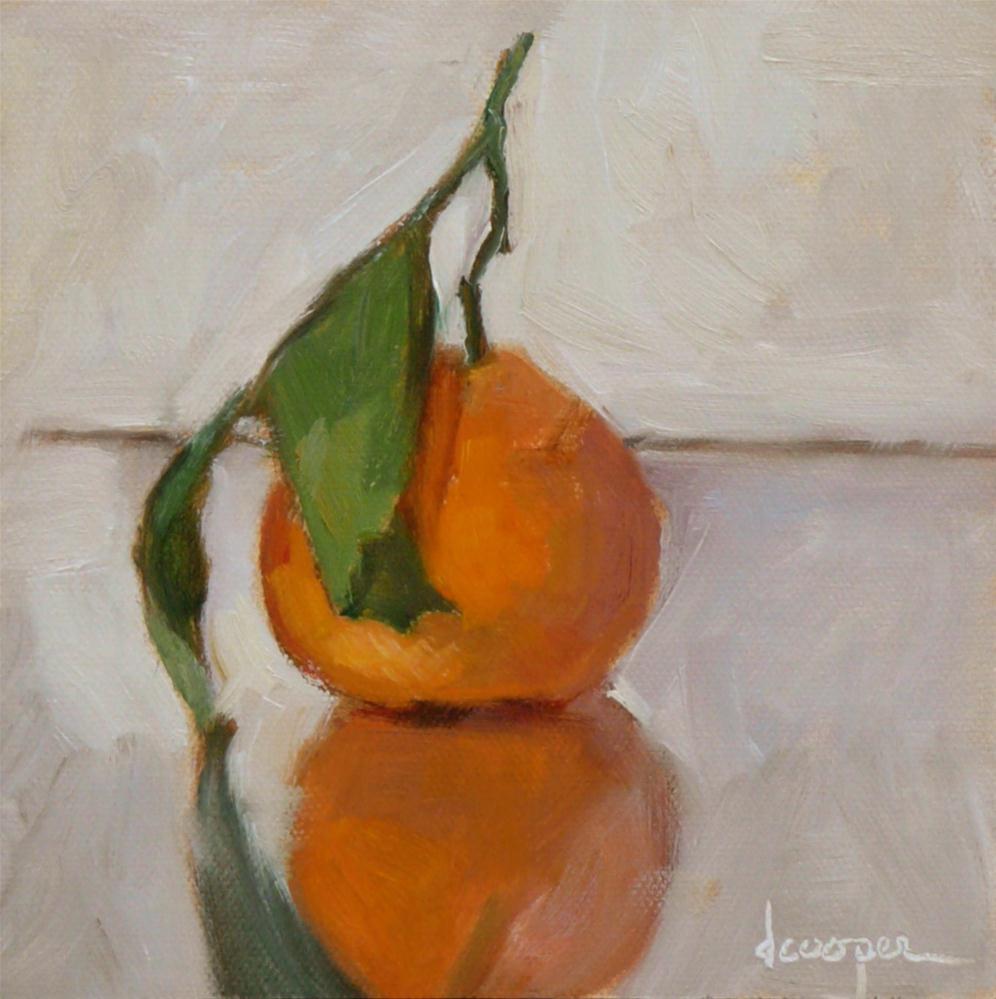 """Orange"" original fine art by Dana Cooper"