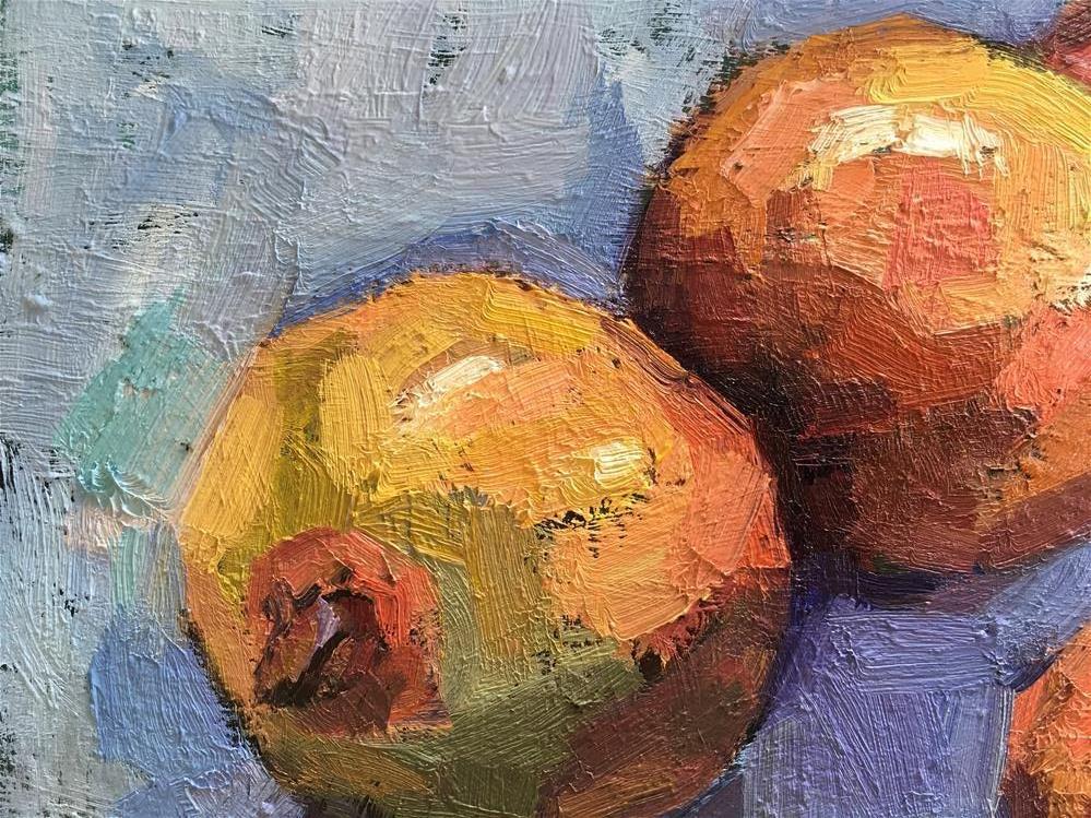 """Hana.Harvest#12"" original fine art by Katya Minkina"