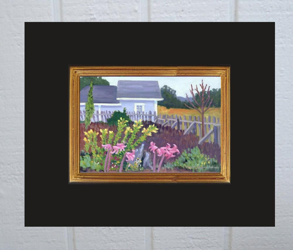 """Mendocino Garden"" original fine art by Rhett Regina Owings"