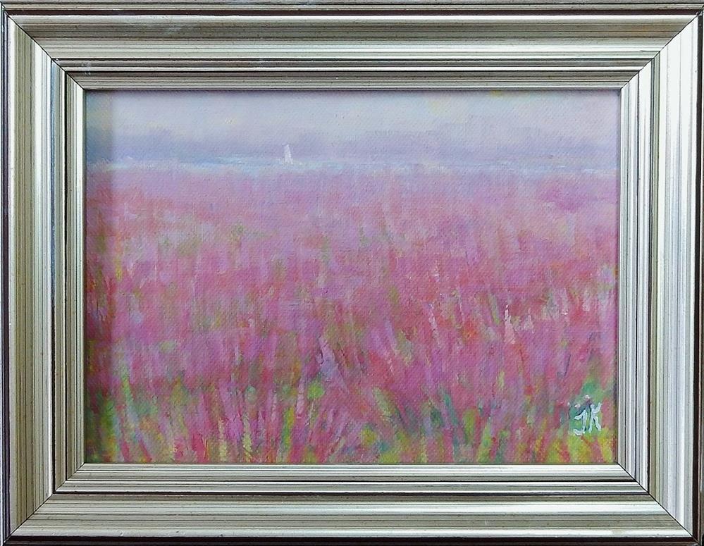 """""""Marsh in August"""" original fine art by J Kelsey"""
