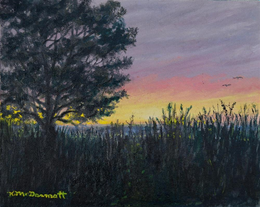 """Approach to the Sea"" original fine art by Kathleen McDermott"
