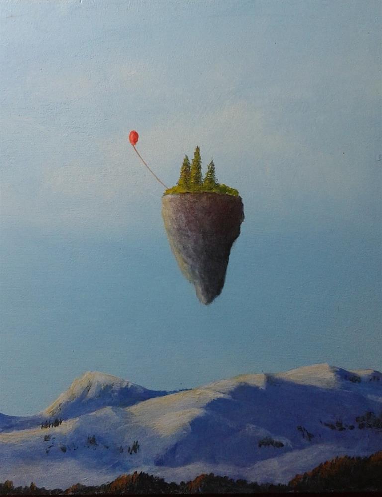 """New Adventure"" original fine art by Staar Caswell"