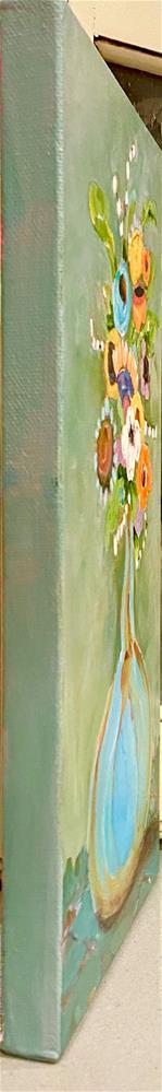 """FLORAL DAZE"" original fine art by Judie Mulkey"