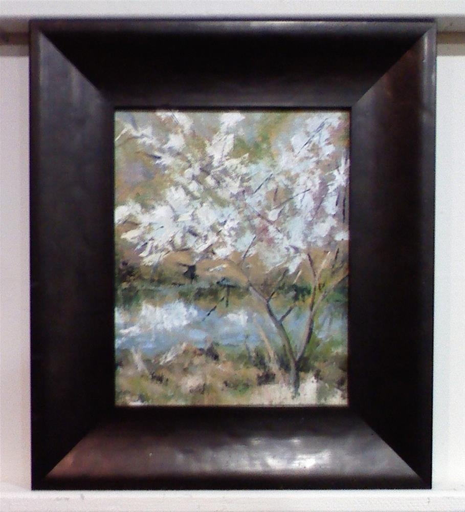 """White Tree"" original fine art by Judith Anderson"
