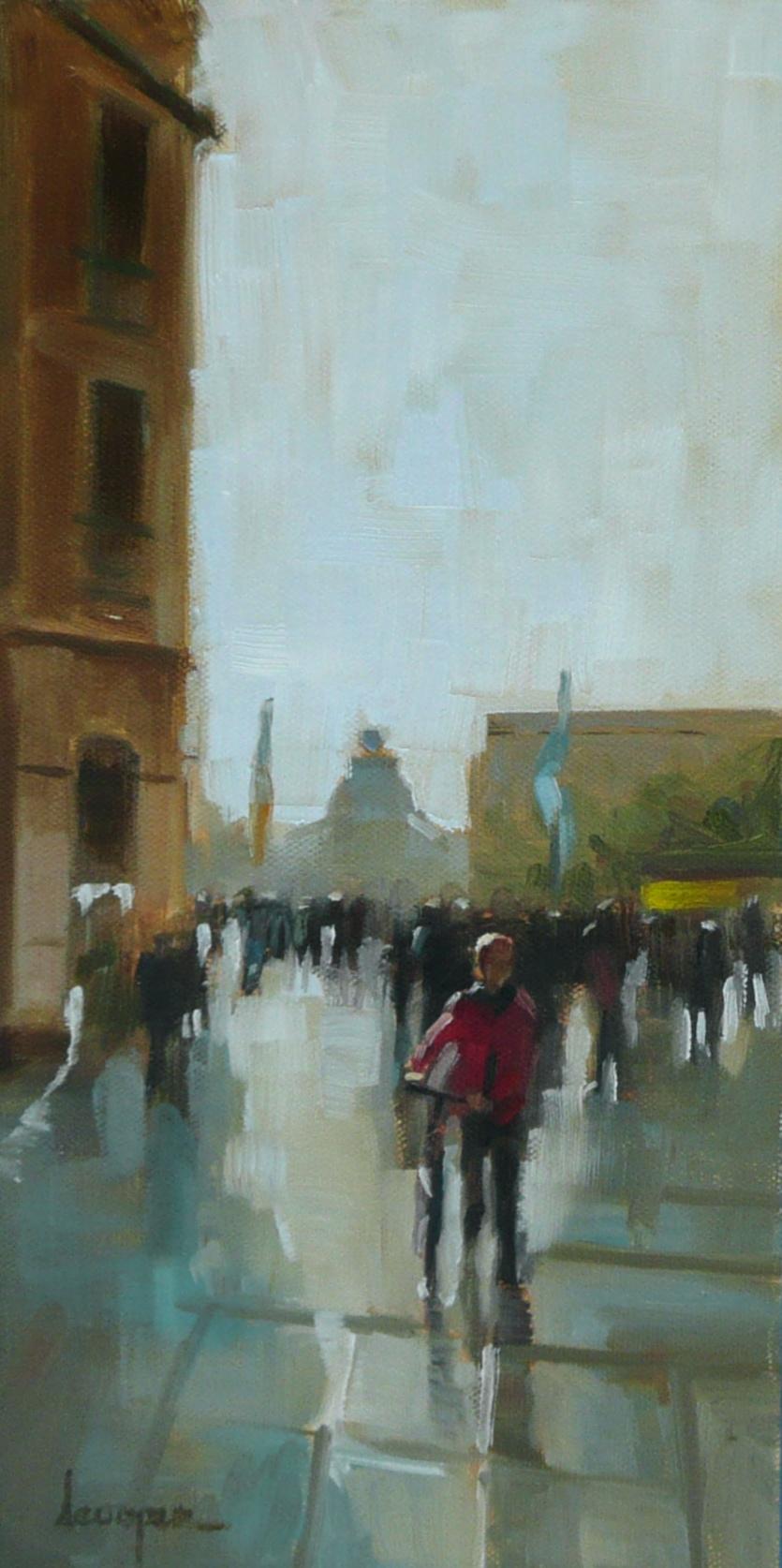 """After The Rain"" original fine art by Dana Cooper"