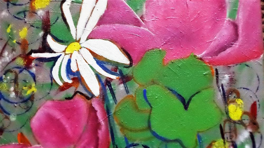 """Kitchen Flowers"" original fine art by tara stephanos"