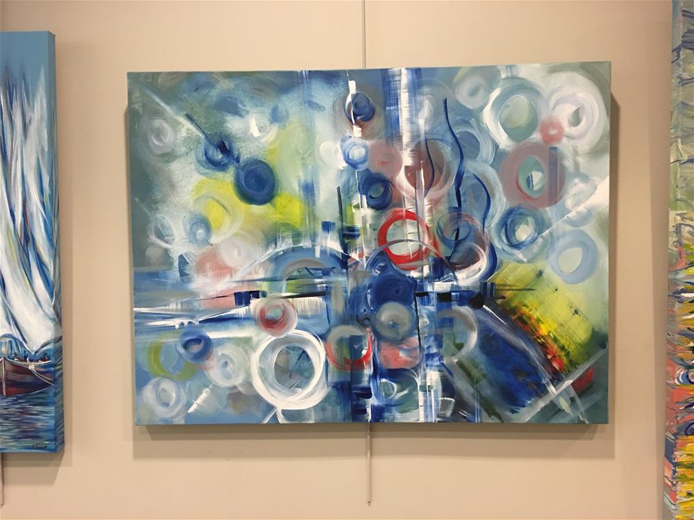 """Melody of Our Soul"" original fine art by Khrystyna Kozyuk"
