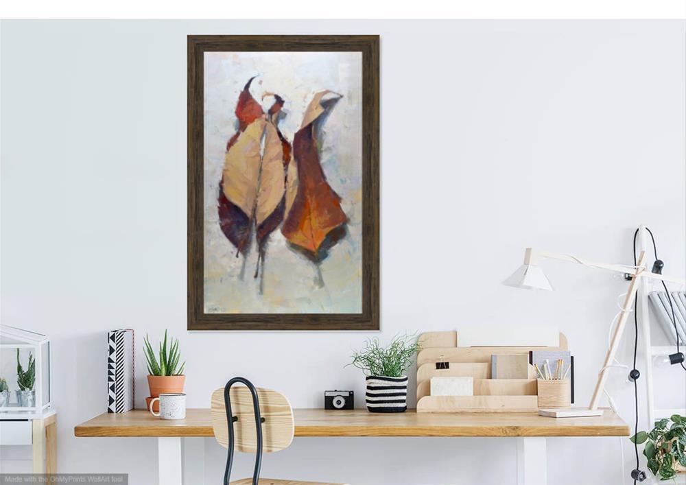 """""""A Leaf Nap"""" original fine art by Carol Marine"""