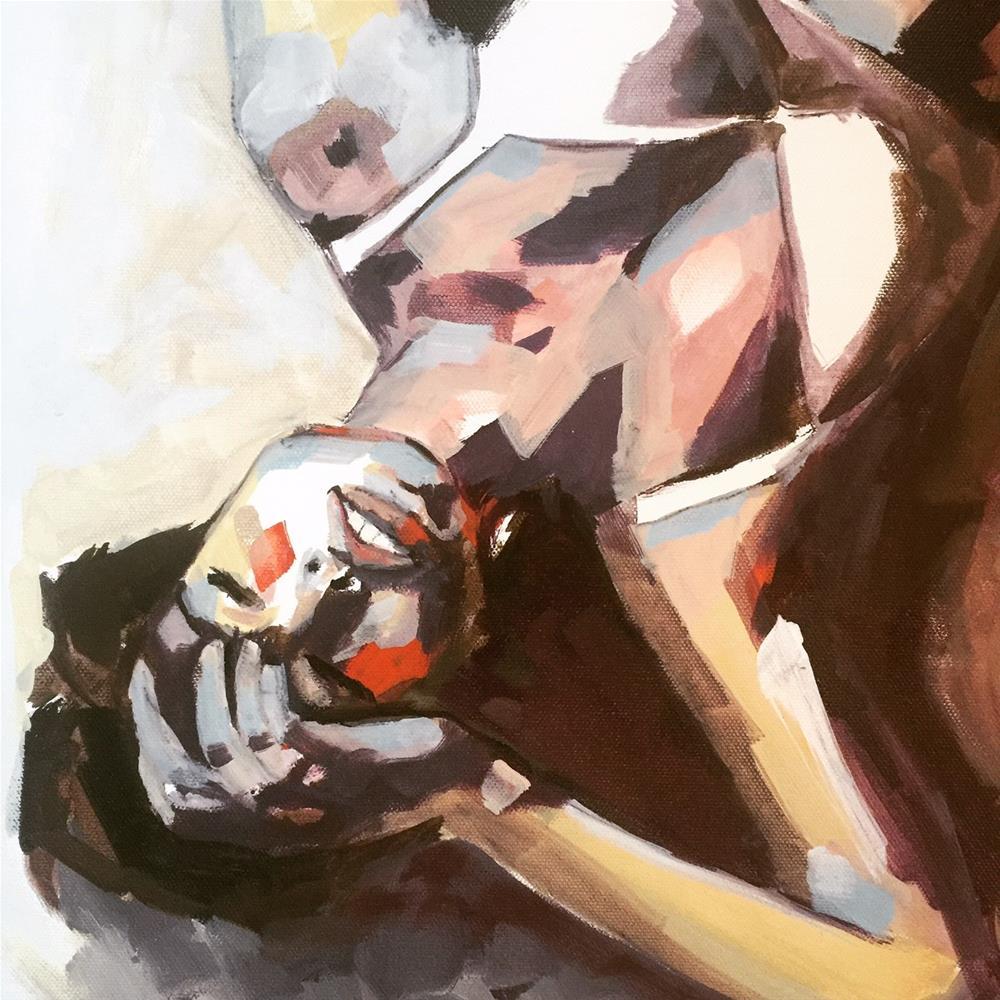 """554 Summertime Meditations"" original fine art by Jenny Doh"