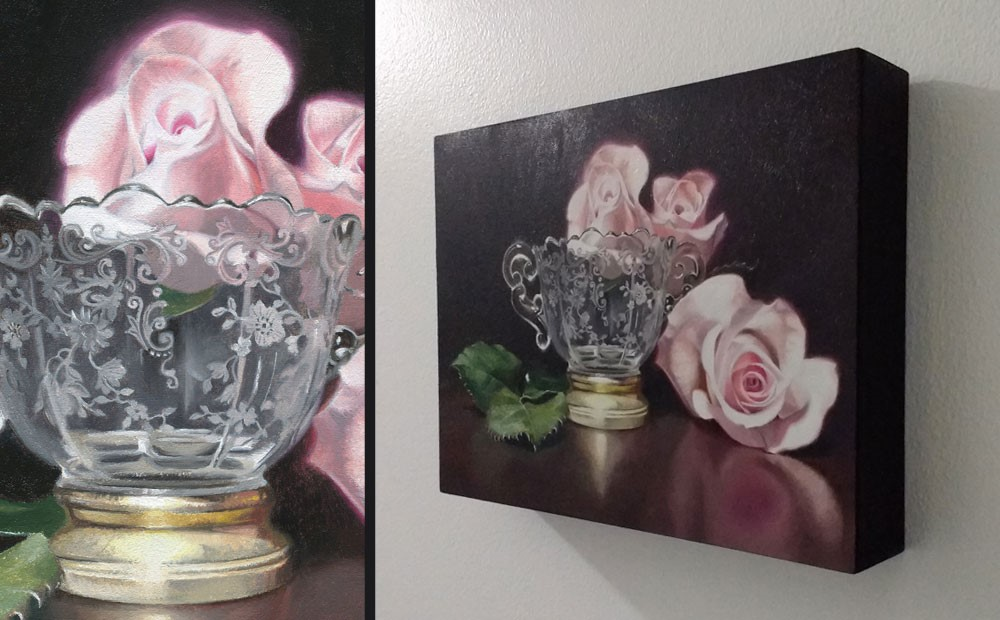 """Company"" original fine art by Ester Wilson"