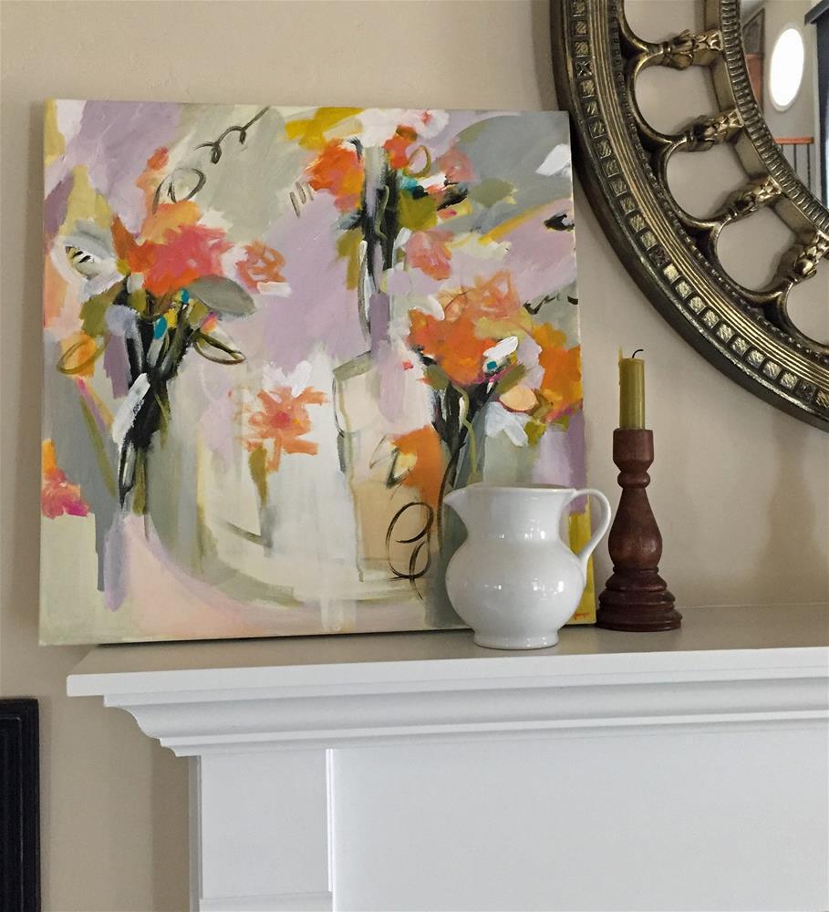 """""""Fall Flowers"""" original fine art by Pamela Munger"""