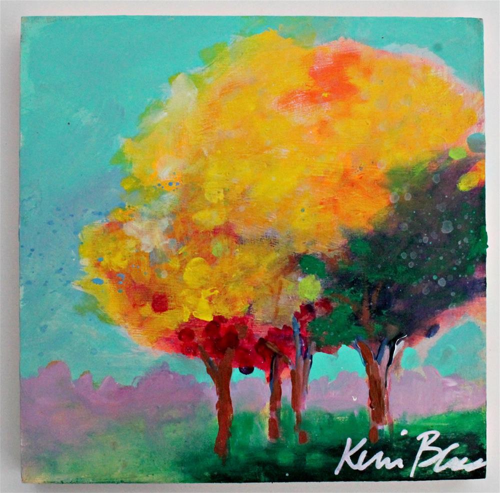 """Summer Trees 2"" original fine art by Kerri Blackman"