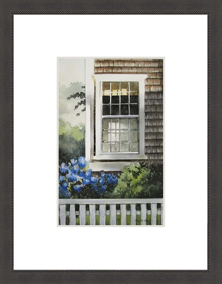 """Nantucket Window"" original fine art by Kara K. Bigda"