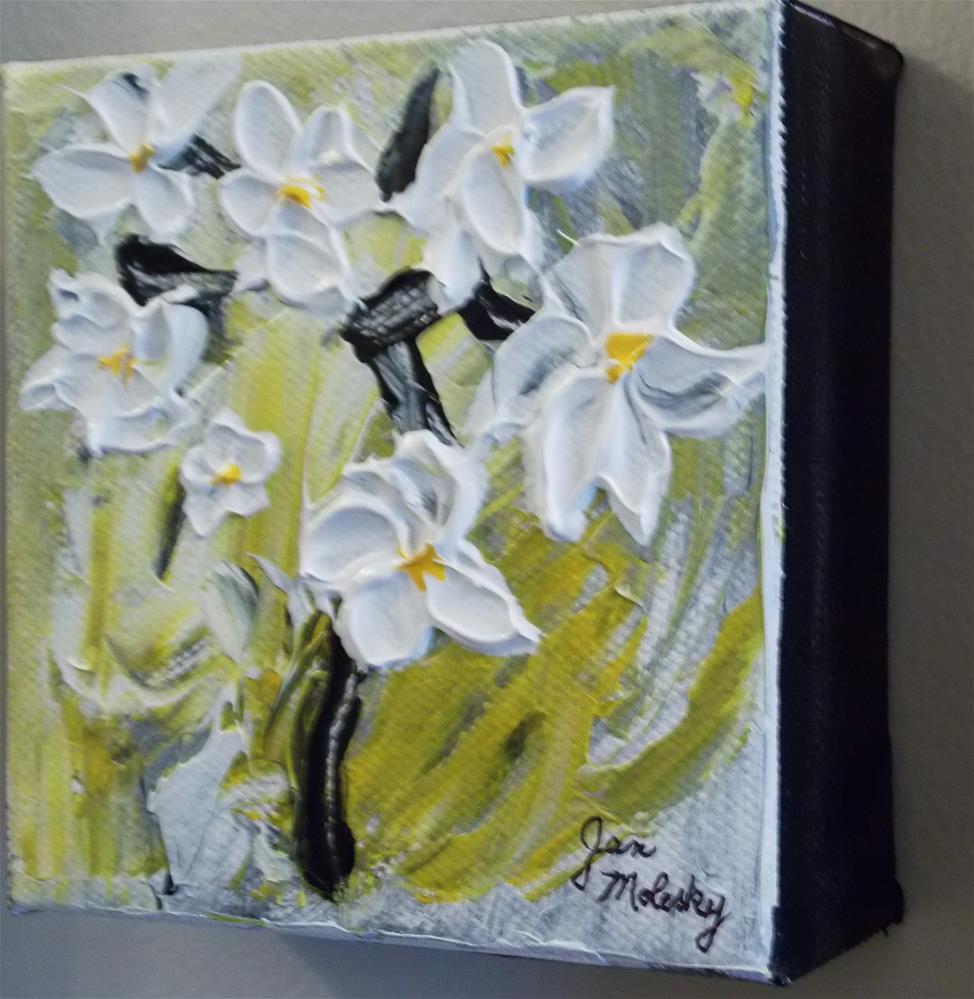 """""""Petal Power"""" original fine art by Jan Molesky"""