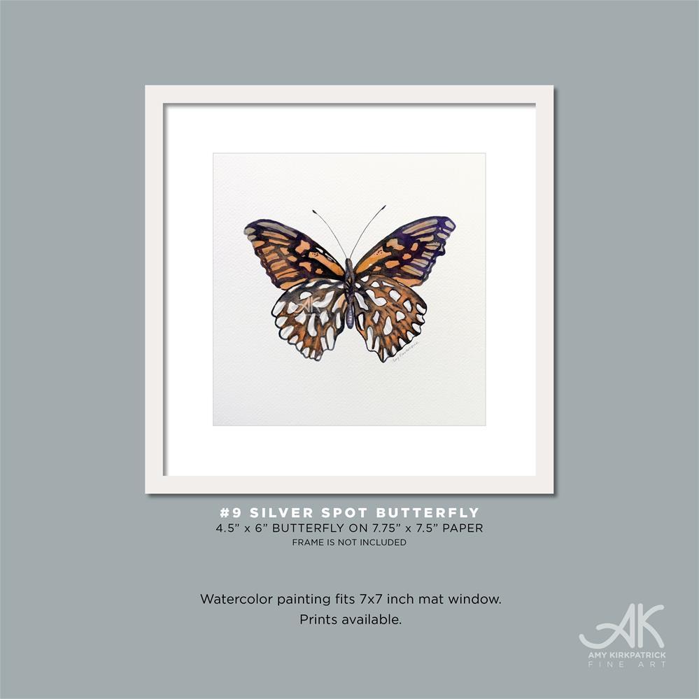 """#9 Mexican Silver Spot #0318"" original fine art by Amy Kirkpatrick"