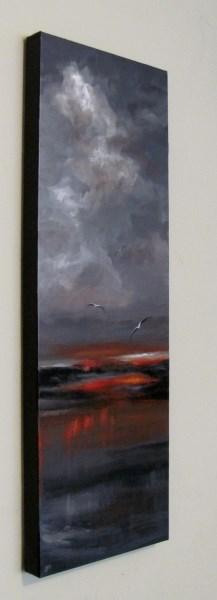"""""""Ocean's Sorrow"""" original fine art by ~ces~ Christine E. S. Code"""