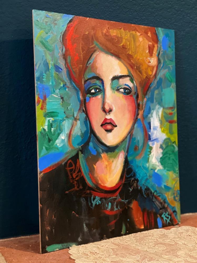 """Finding My Way"" original fine art by Artcylucy Art by Roberta Schmidt"