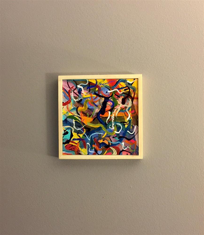 """Enthusiasm "" original fine art by Patricia Disantis"