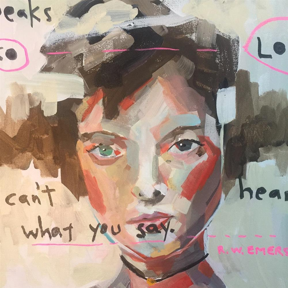 """549 What You Do"" original fine art by Jenny Doh"