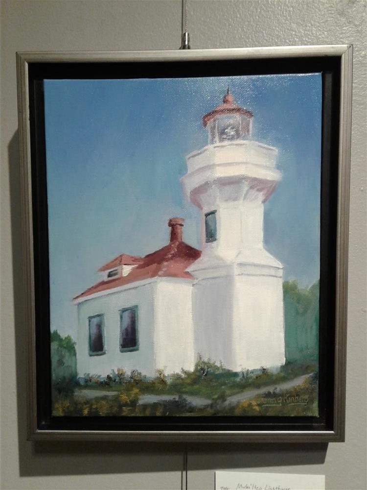"""""""Lighthouse """" original fine art by Jenny Kinberg"""