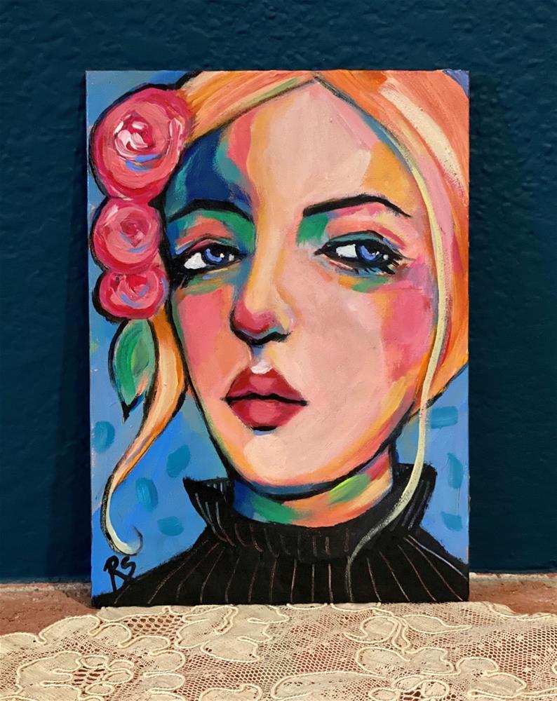 """""""Memories of Spring"""" original fine art by Artcylucy Art by Roberta Schmidt"""