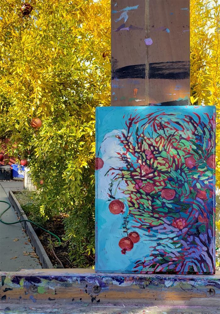 """Fall Harvest"" original fine art by Bhavna Misra"