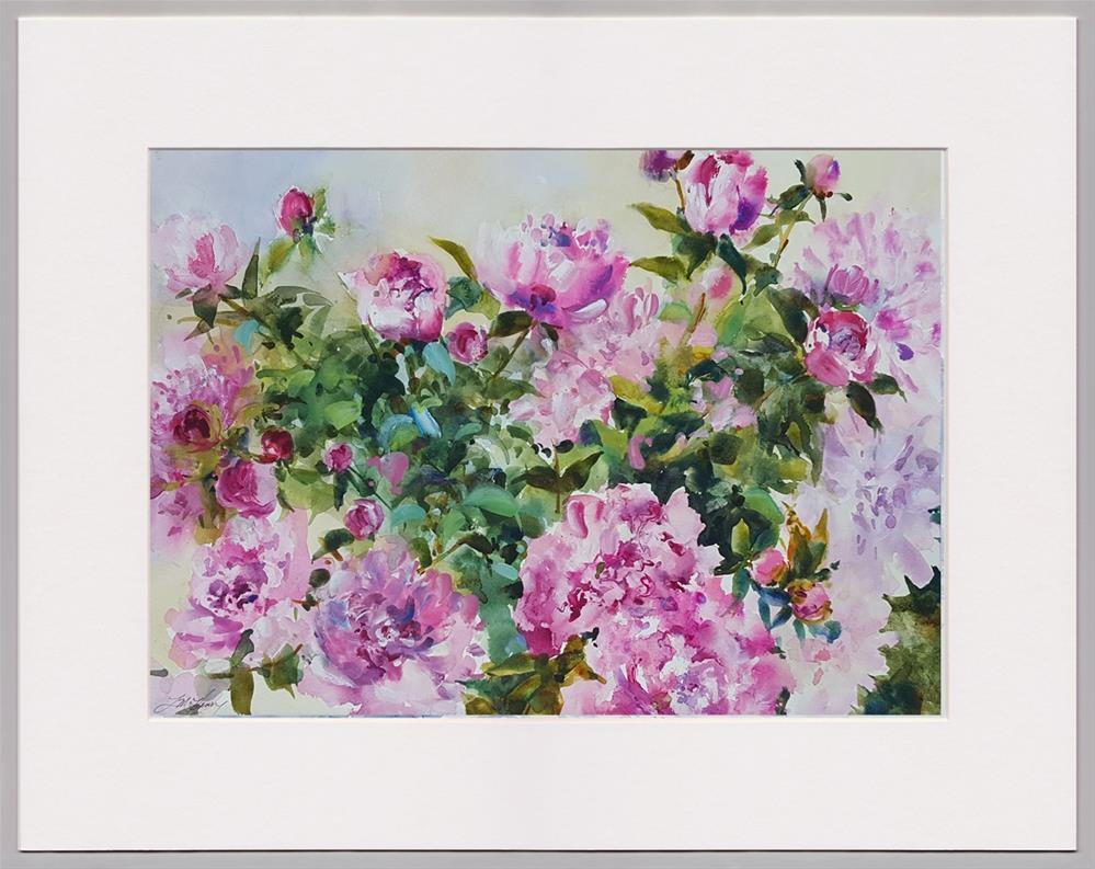 """""""Blessings of Spring"""" original fine art by Linda Henry"""