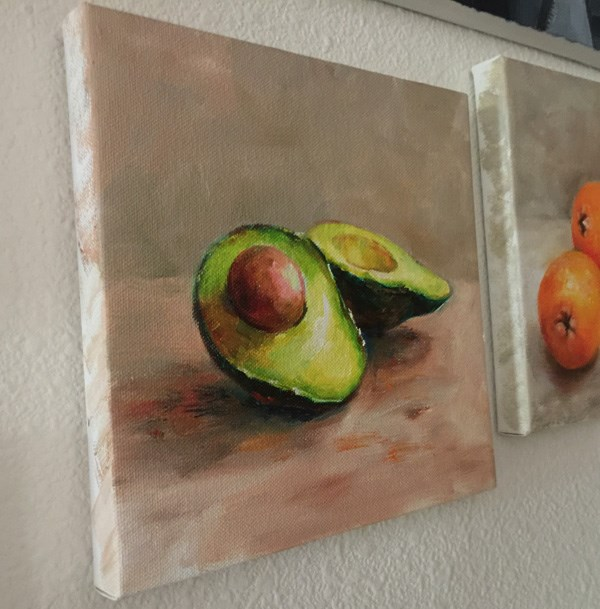 """Avacado"" original fine art by Joy Cai"