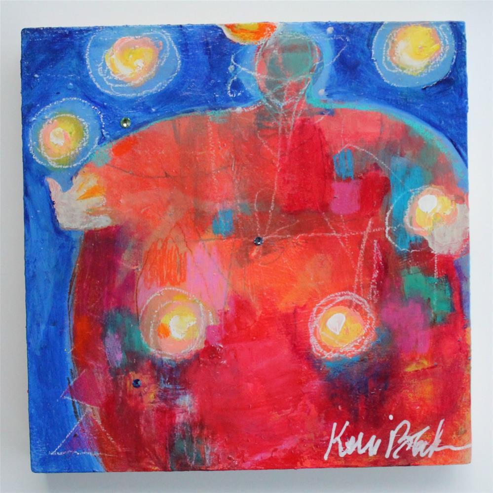 """Juggling Fireballs "" original fine art by Kerri Blackman"