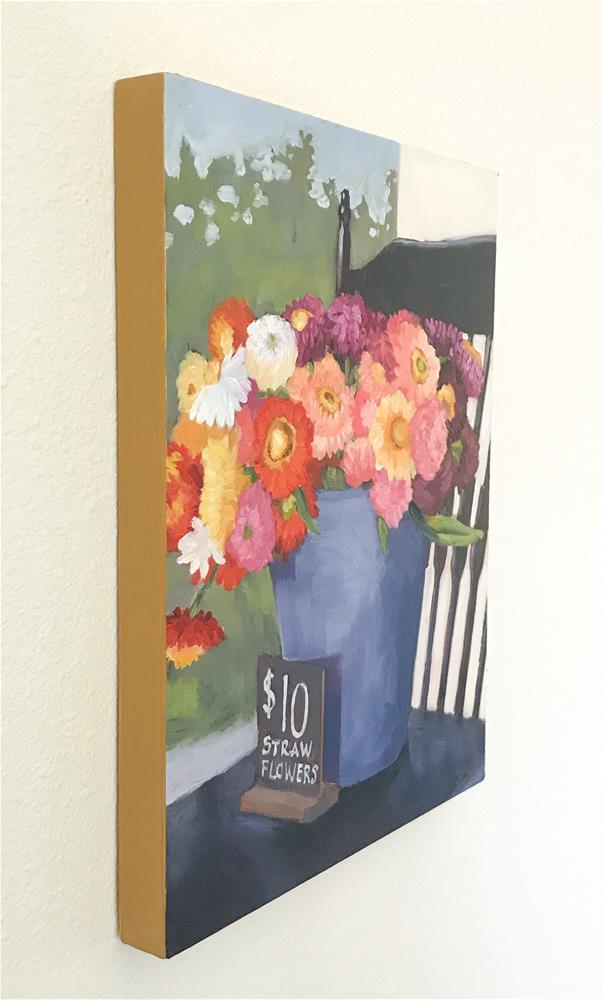 """Pretty Flowers"" original fine art by Jaime Wickstrom"