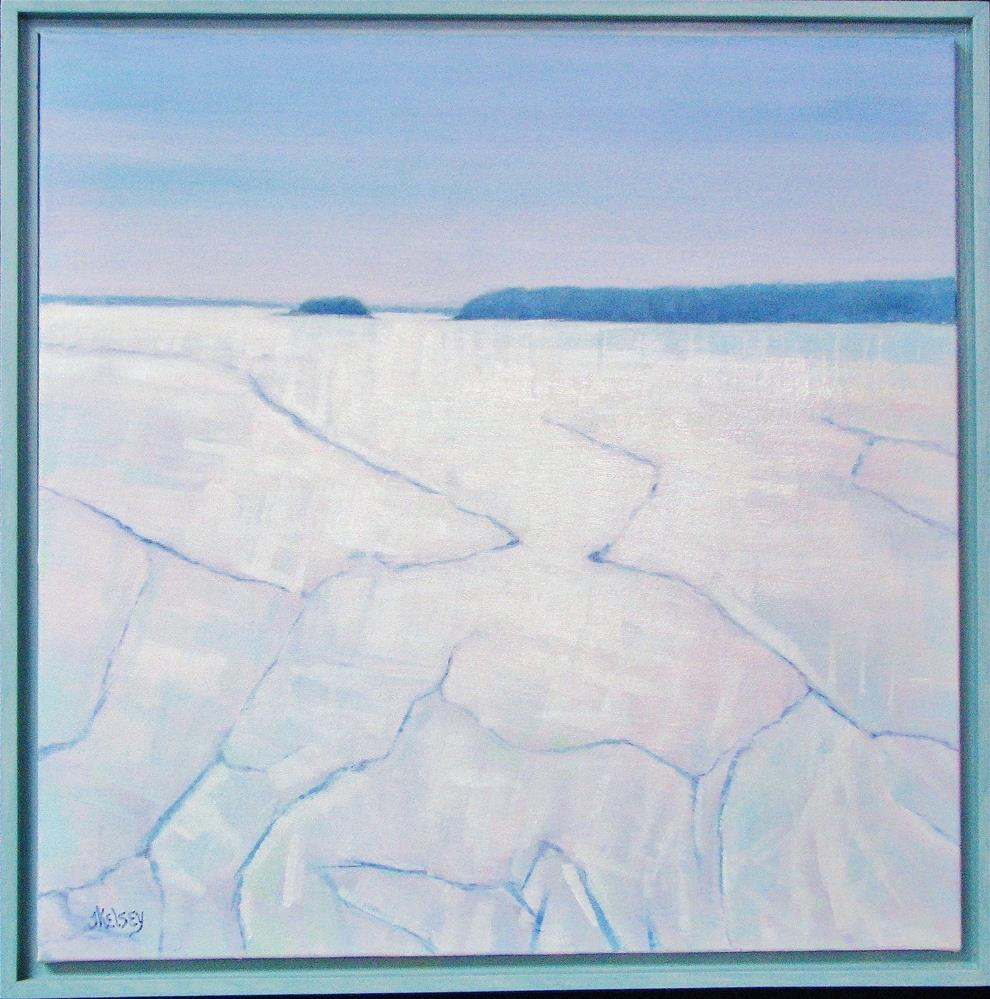"""Ice Cold"" original fine art by J Kelsey"