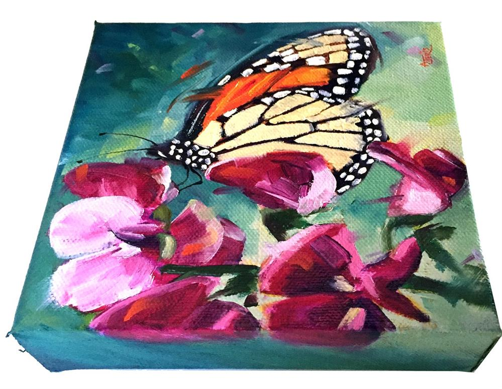 """Butterfly Morning"" original fine art by Andrea Jeris"
