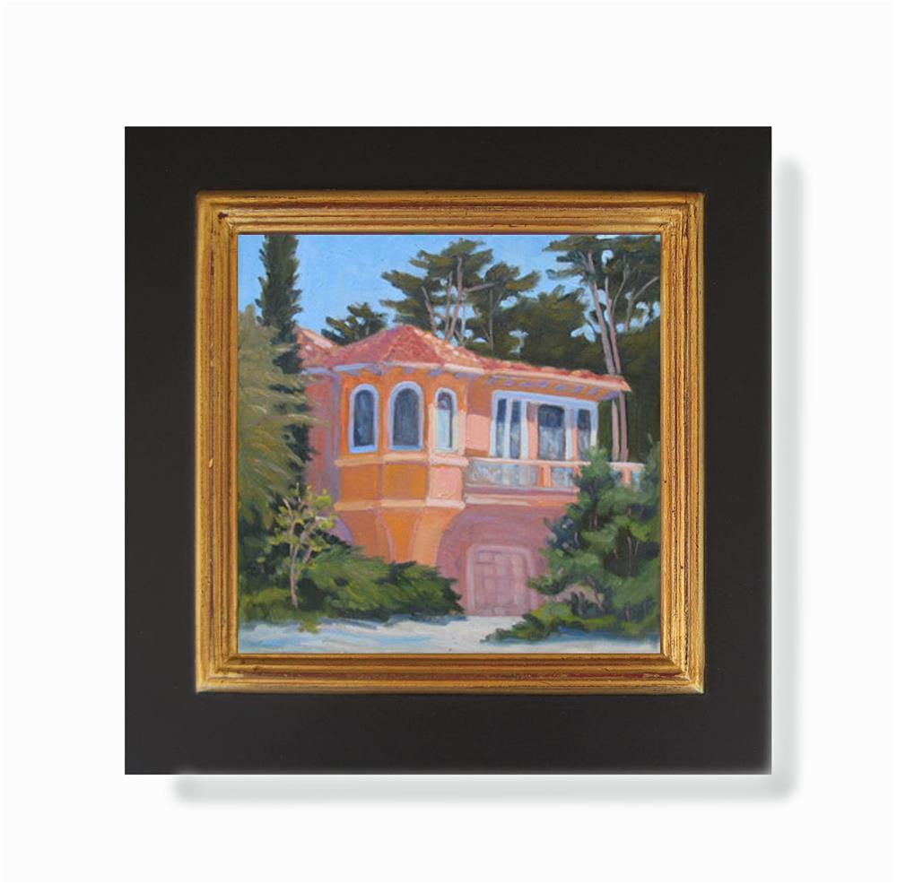 """House Under Cypress Trees"" original fine art by Rhett Regina Owings"