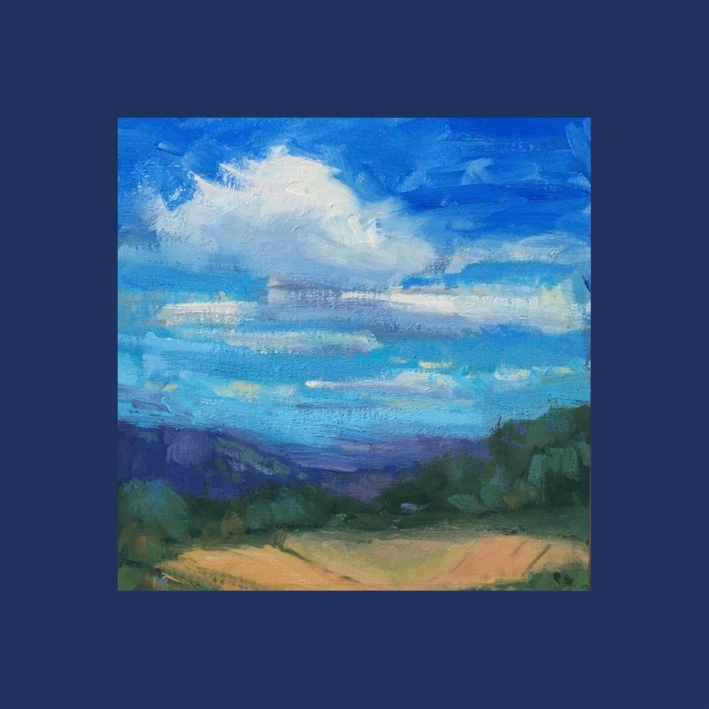 """""""Valley Low"""" original fine art by Victoria  Biedron"""