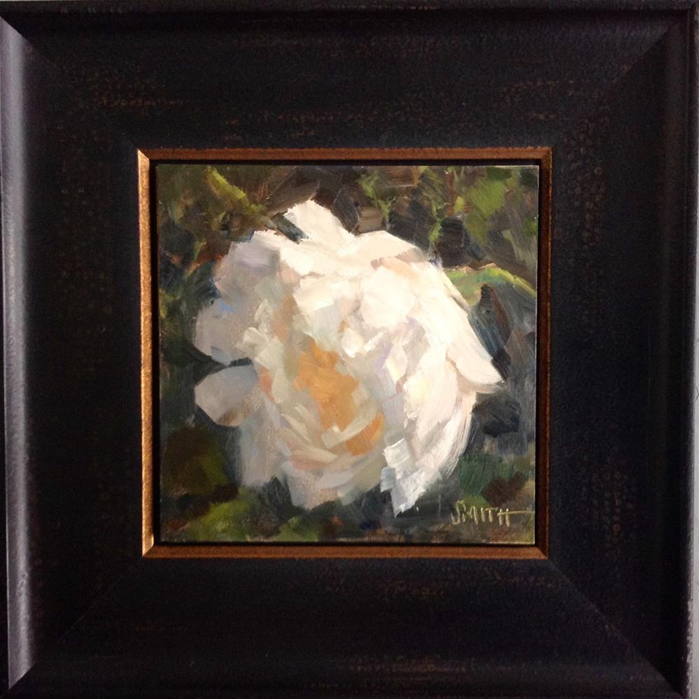 """English Rose Study"" original fine art by Barbie Smith"