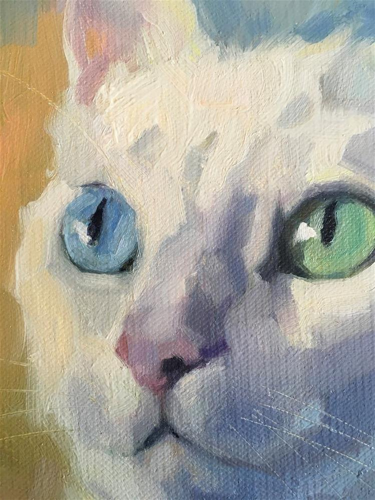 """Adopt323"" original fine art by Katya Minkina"