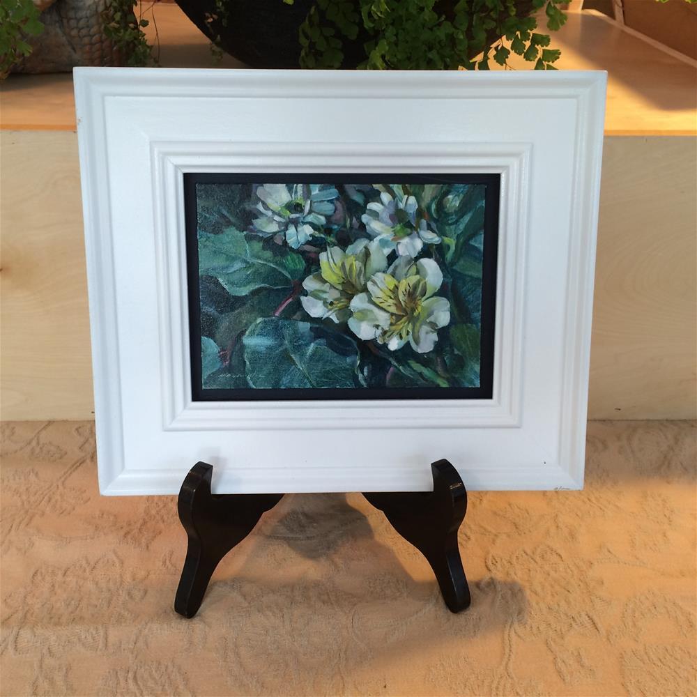 """Twinds (Framed)"" original fine art by Nicoletta Baumeister"