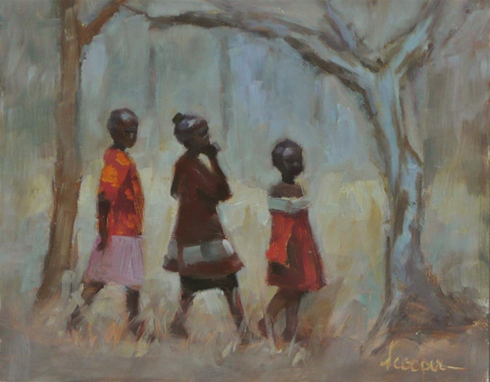 """""""Daydreamers"""" original fine art by Dana Cooper"""