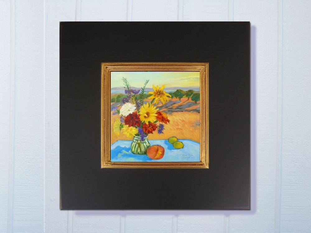 """""""Morning Bouquet"""" original fine art by Rhett Regina Owings"""