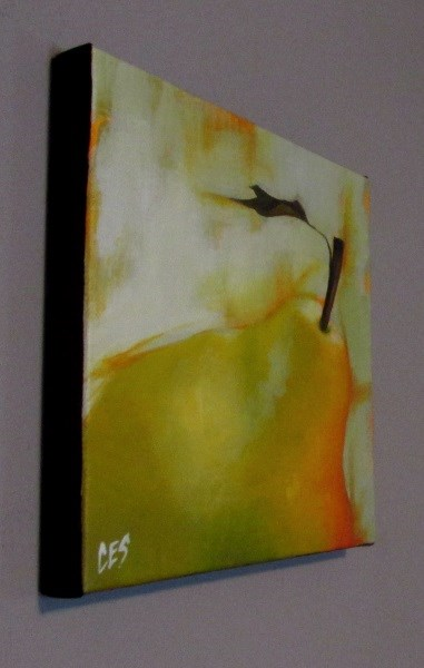 """Spring Pear"" original fine art by ~ces~ Christine E. S. Code"