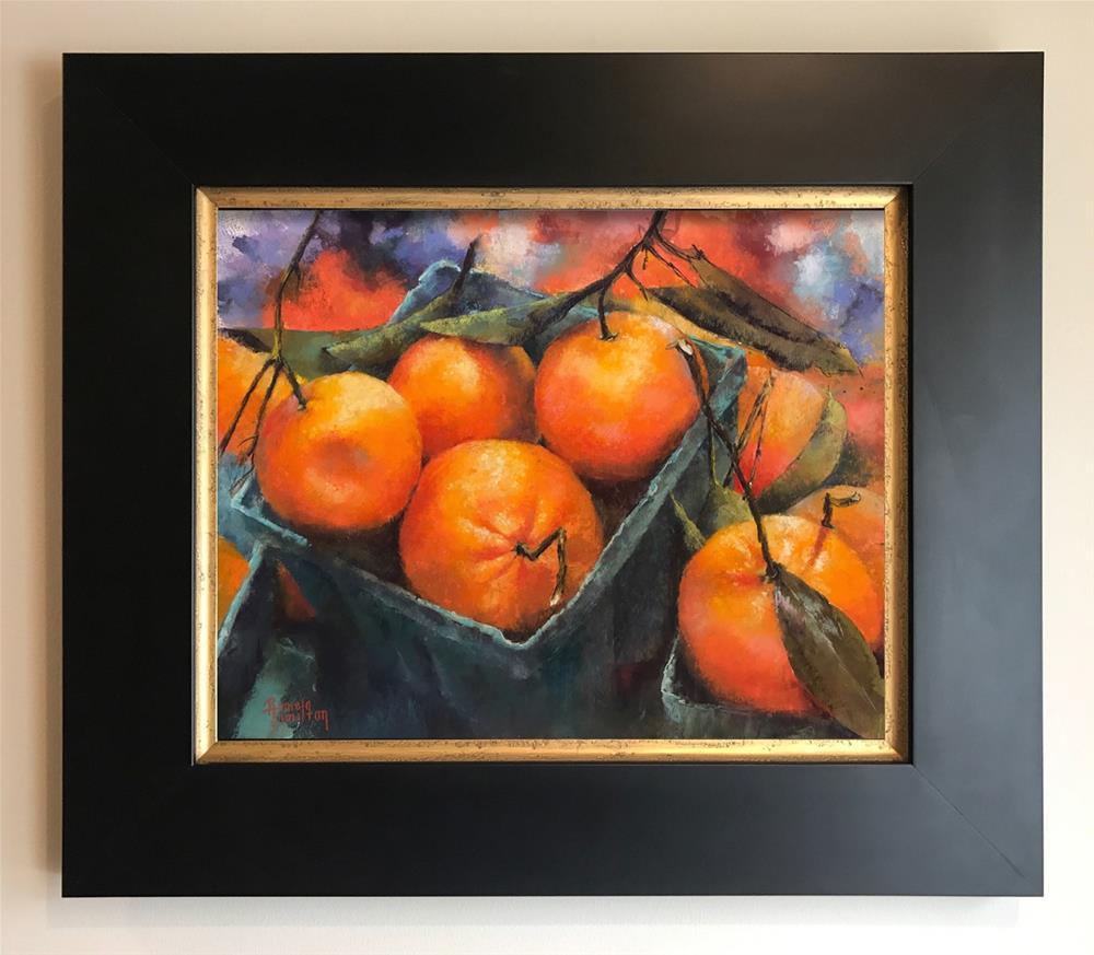 """Orange You Glad"" original fine art by Pamela Hamilton"