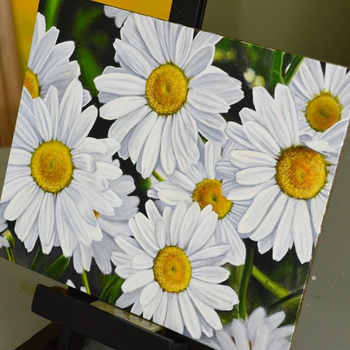 """Everything's Coming Up Daisies"" original fine art by Kim Testone"