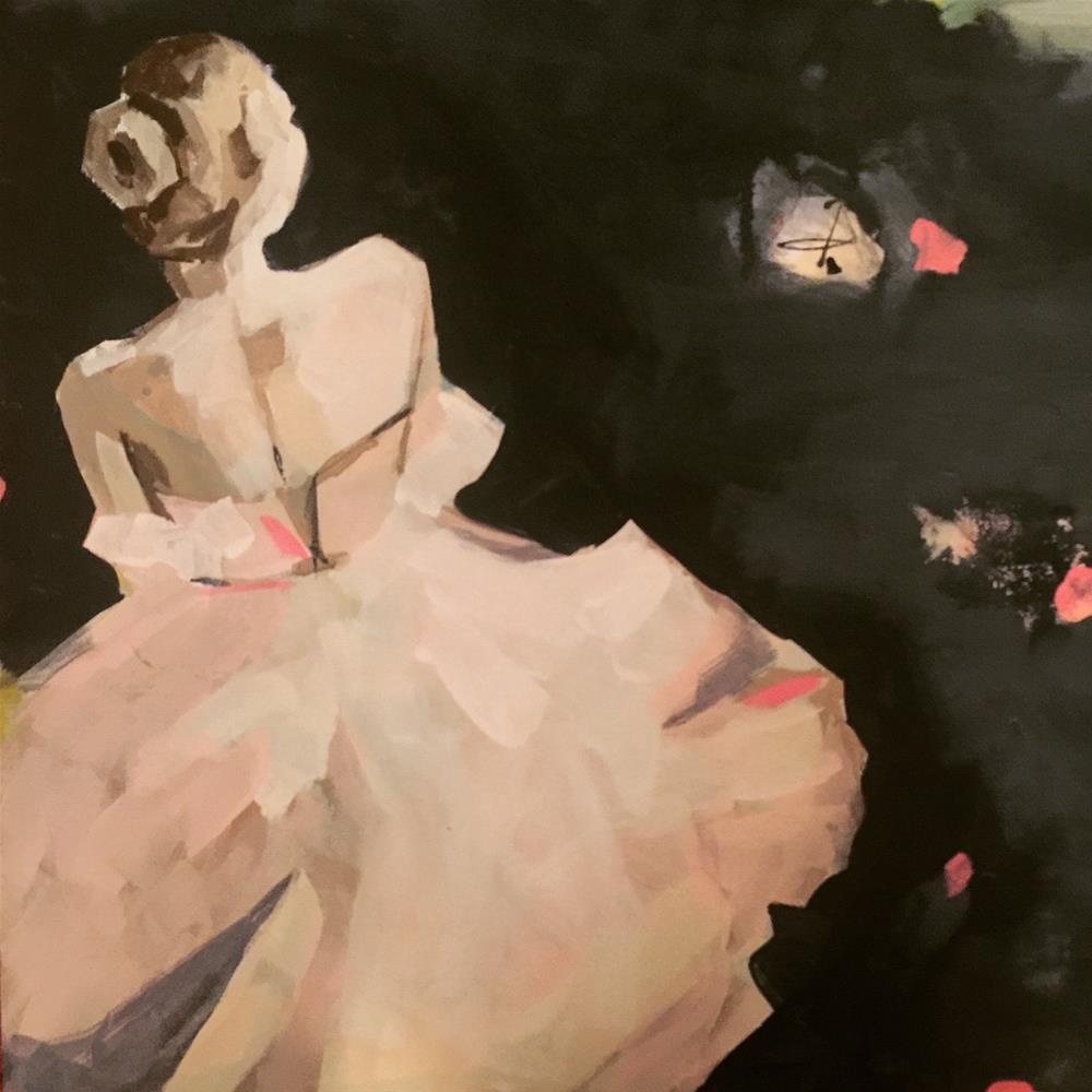 """590 Ballerinas at Rest"" original fine art by Jenny Doh"