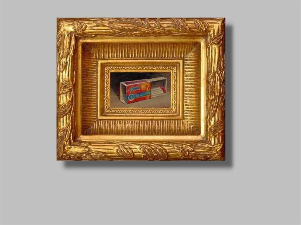 """matches"" original fine art by Mark DeBak"