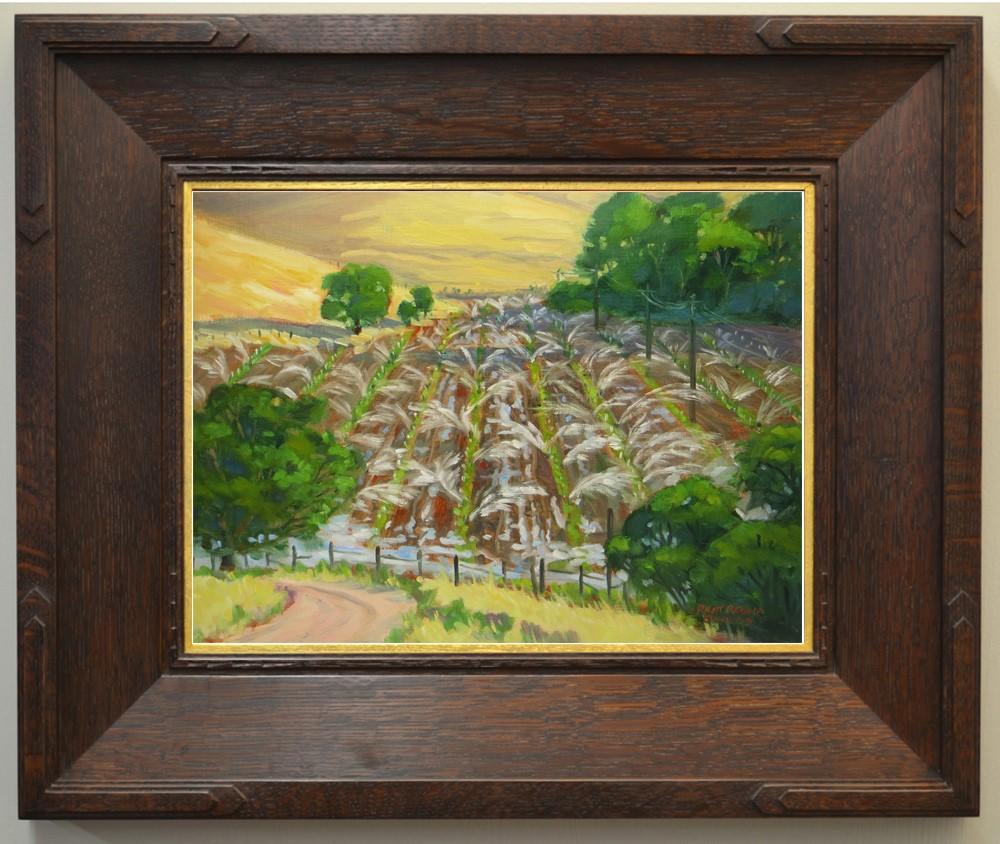 """""""Sprinklers"""" original fine art by Rhett Regina Owings"""