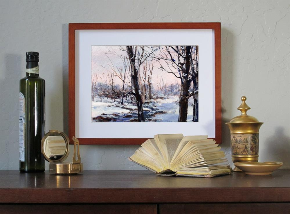 """Afterglow"" original fine art by Linda Henry"