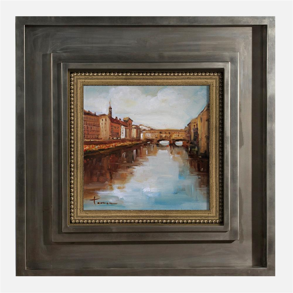 """Bridge-01"" original fine art by Teresa Yoo"