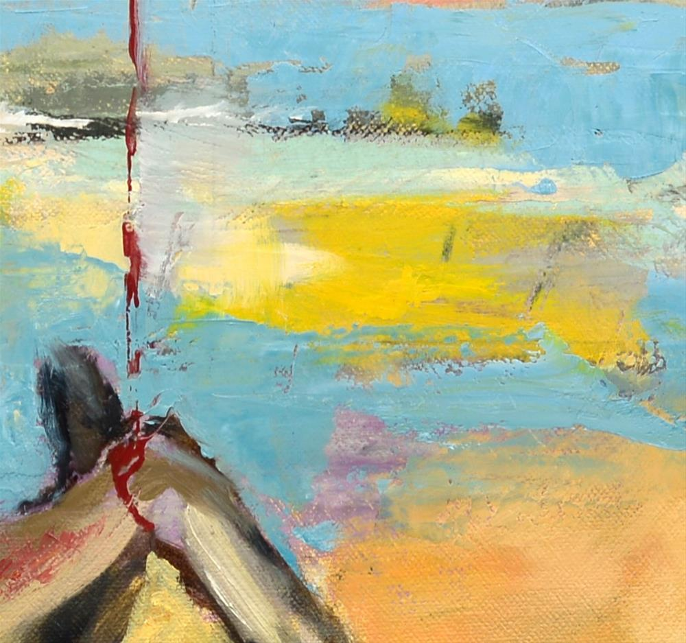 """""""Sky's the Limit"""" original fine art by Karen Weber"""